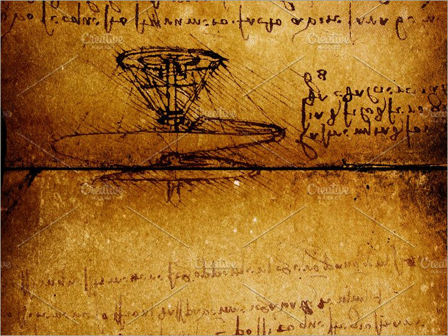 Ancient Aircraft Technology Script Paper Textures
