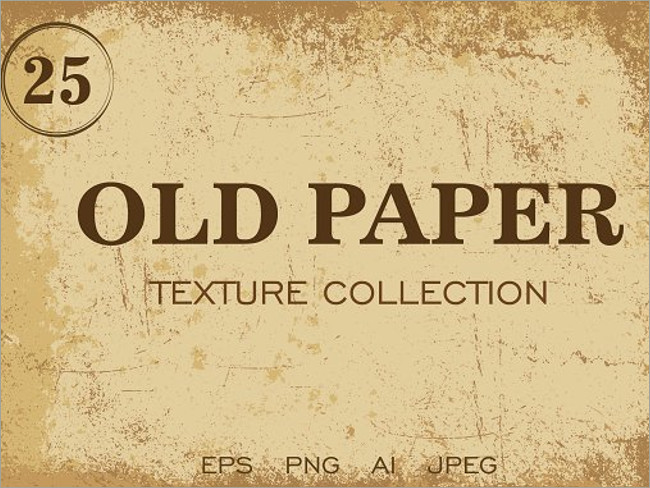 Earthed Old Paper Textures