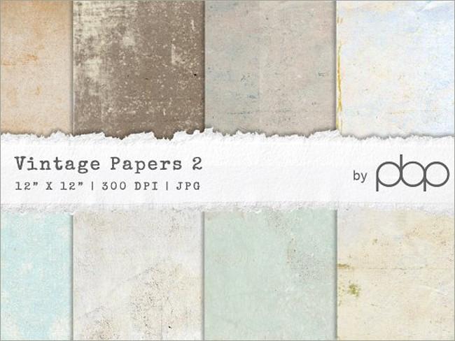 4 Photoshop Vintage Paper Textures
