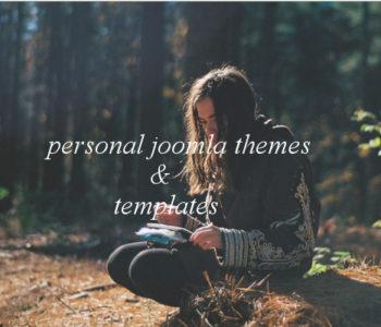 Personal Joomla Templates