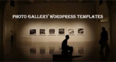 Photo Gallery WordPress Templates