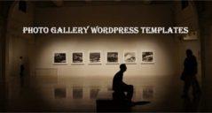 Photo Gallery WordPress Templates