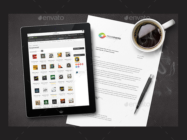 photorealistic Corporate Mockups
