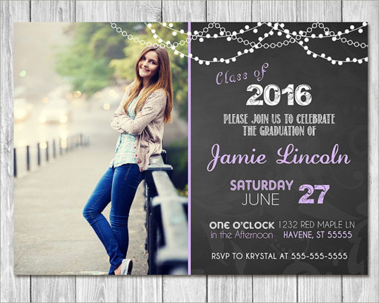 Graduation Invitation Templates Free Word Designs