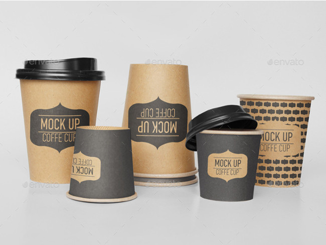 realistic display for your Coffee Cup design.