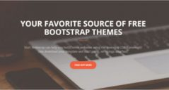 32+ Bootstrap Responsive Website Templates