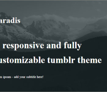 Dark Tumblr Themes