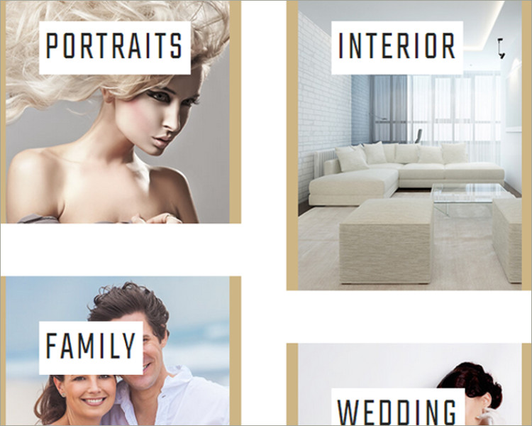 wedding photo gallery WordPress Theme