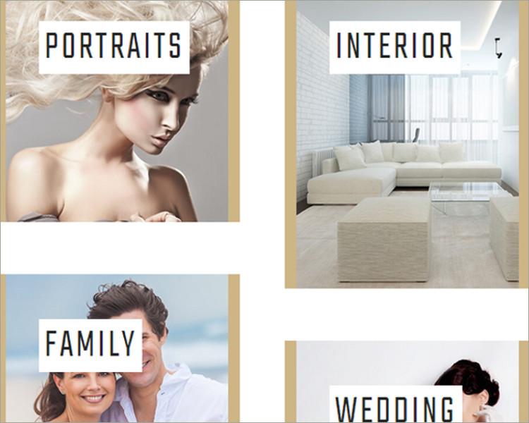 wedding photo gallery WordPress Theme