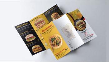 44+ Best Menu Brochures Designs