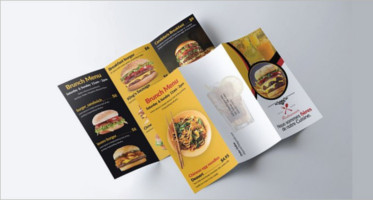 44+ Best Menu Brochures Designs