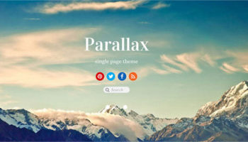 48+ Best Parallax Scrolling WordPress Themes