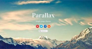 48+ Best Parallax Scrolling WordPress Themes