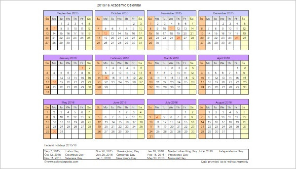Printable Calendar Templates Free Word Pdf Document