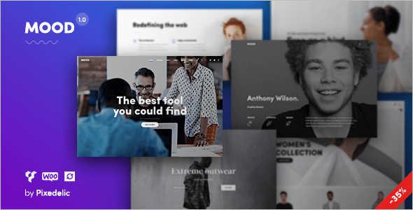Agency Blog WordPress Template