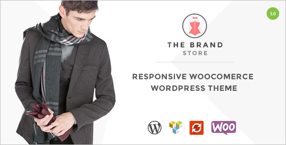 Animated Brand WordPress Template
