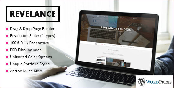 Animated Builder WordPress Template
