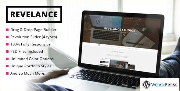 Animated Builder WordPress Template
