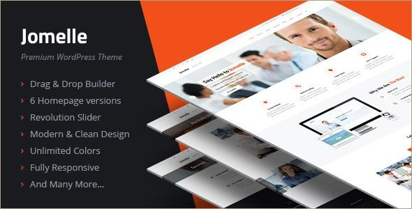 Animated Business WordPress Template