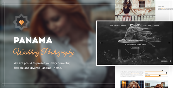 Animated Transitions WordPress Template