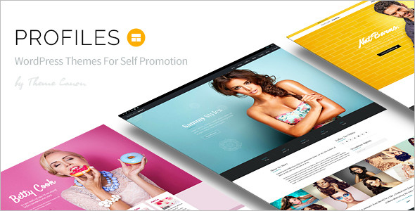 Animation Profiles WordPress Template