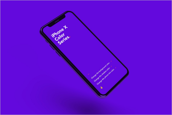 Apple iPhone Mockup Template