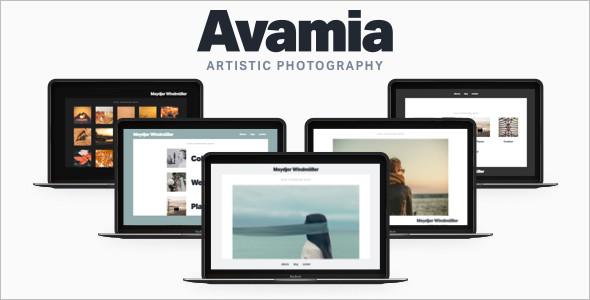 Artistic Photography WordPress Template