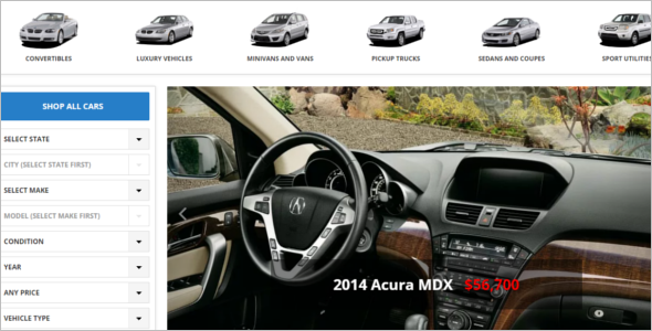 Automax Dealership WordPress Template