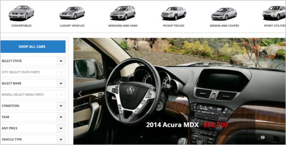 Automax Dealership WordPress Template