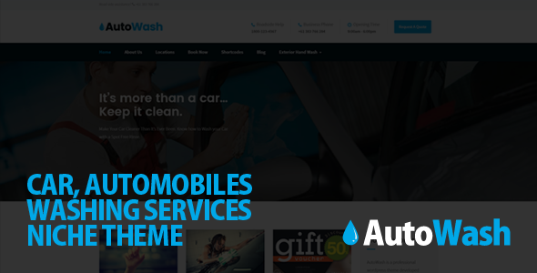 Automobiles WordPress Template