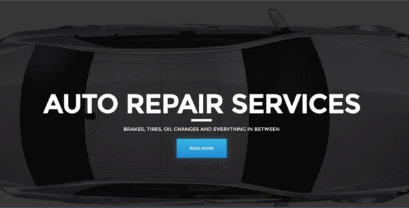 Automotive Car Repair WordPress Template