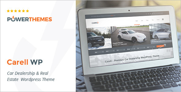 Automotive Car Shop WordPress Template
