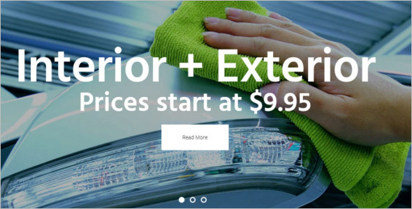 Automotive Car Wash WordPress Template