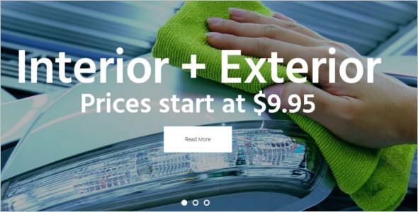 Automotive Car Wash WordPress Template