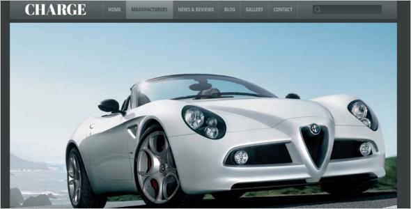 Automotive Car rating WordPress Theme