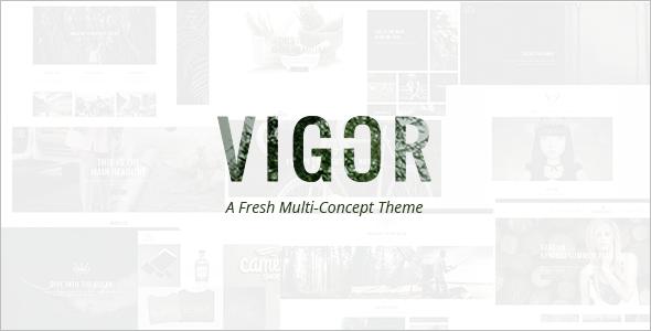 Automotive Fresh Concept WordPress Template