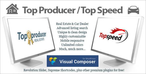 Automotive Product WordPress Template