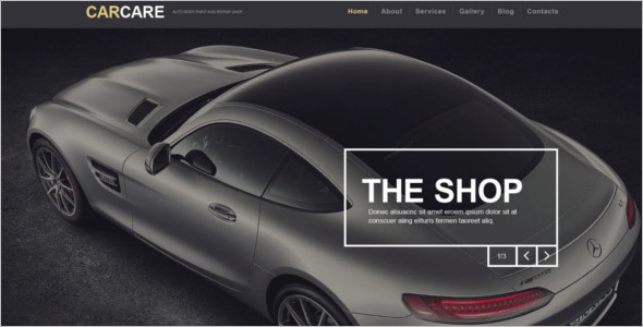 Automotive Repair WordPress Template