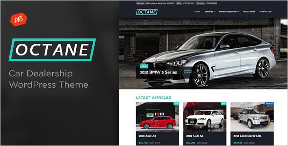 Automotive Vehicle WordPress Template