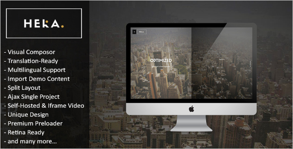 Automotive WordPress Template Design