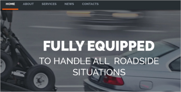 Automotive WordPress Template