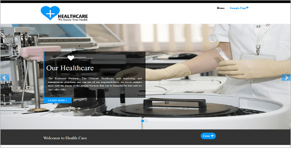 Basic Medical WordPress Template