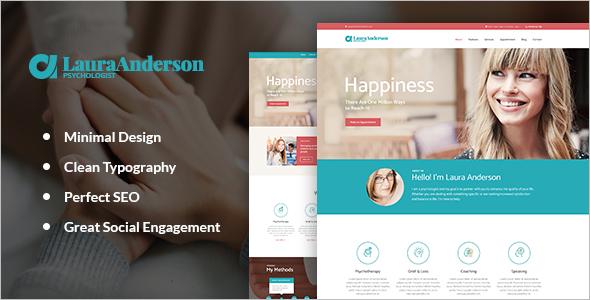 Beauty WordPress Platform template