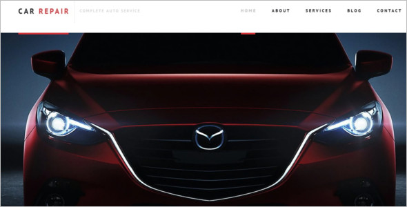 Best Car Repair WordPress Template