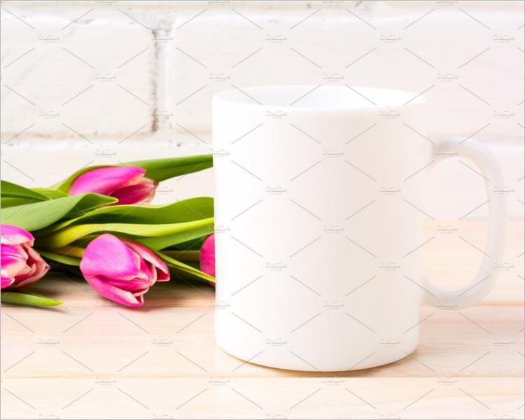 BlankWhite Coffee Mug Mockup