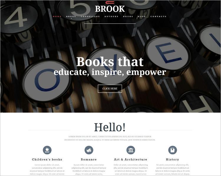 Book Publishers Joomla Template