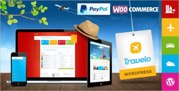 Booking WordPress Template