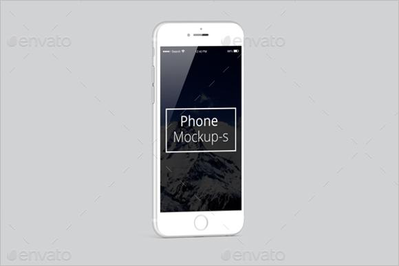 Branded iPhone Mockup Design