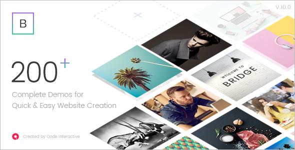 Bridge Agency WordPress Template