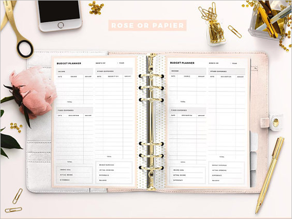 Budget Planner Template Free Download